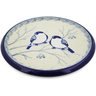 7-inch Stoneware Cutting Board - Polmedia Polish Pottery H7822J
