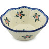 7-inch Stoneware Fluted Bowl - Polmedia Polish Pottery H0752H