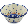 7-inch Stoneware Fluted Bowl - Polmedia Polish Pottery H9948H