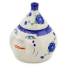 7-inch Stoneware Garlic and Onion Jar - Polmedia Polish Pottery H0195K