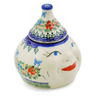7-inch Stoneware Garlic and Onion Jar - Polmedia Polish Pottery H0558K