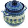 7-inch Stoneware Garlic and Onion Jar - Polmedia Polish Pottery H4460H