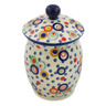 7-inch Stoneware Jar with Lid - Polmedia Polish Pottery H9500J