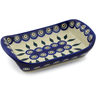 7-inch Stoneware Platter with Handles - Polmedia Polish Pottery H6147F