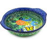 7-inch Stoneware Round Baker with Handles - Polmedia Polish Pottery H4860G
