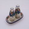7-inch Stoneware Salt and Pepper Set - Polmedia Polish Pottery H0593G