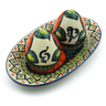 7-inch Stoneware Salt and Pepper Set - Polmedia Polish Pottery H0947E