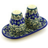 7-inch Stoneware Salt and Pepper Set - Polmedia Polish Pottery H2286D