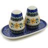 7-inch Stoneware Salt and Pepper Set - Polmedia Polish Pottery H3689A