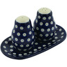 7-inch Stoneware Salt and Pepper Set - Polmedia Polish Pottery H4263B