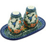 7-inch Stoneware Salt and Pepper Set - Polmedia Polish Pottery H4392H