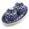 7-inch Stoneware Salt and Pepper Set - Polmedia Polish Pottery H4482J