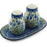 7-inch Stoneware Salt and Pepper Set - Polmedia Polish Pottery H4634I