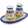7-inch Stoneware Salt and Pepper Set - Polmedia Polish Pottery H4674K