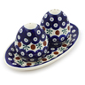 7-inch Stoneware Salt and Pepper Set - Polmedia Polish Pottery H5976I