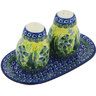 7-inch Stoneware Salt and Pepper Set - Polmedia Polish Pottery H8478G