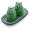7-inch Stoneware Salt and Pepper Set - Polmedia Polish Pottery H8569I