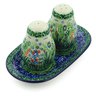 7-inch Stoneware Salt and Pepper Set - Polmedia Polish Pottery H8571I