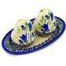 7-inch Stoneware Salt and Pepper Set - Polmedia Polish Pottery H9714D