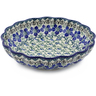 7-inch Stoneware Scalloped Bowl - Polmedia Polish Pottery H0031J