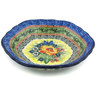 7-inch Stoneware Scalloped Bowl - Polmedia Polish Pottery H0077G