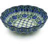 7-inch Stoneware Scalloped Bowl - Polmedia Polish Pottery H0344B