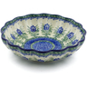7-inch Stoneware Scalloped Bowl - Polmedia Polish Pottery H2787C