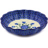 7-inch Stoneware Scalloped Bowl - Polmedia Polish Pottery H4451A