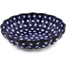 7-inch Stoneware Scalloped Bowl - Polmedia Polish Pottery H4469A