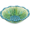 7-inch Stoneware Scalloped Bowl - Polmedia Polish Pottery H4987G