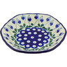 7-inch Stoneware Scalloped Bowl - Polmedia Polish Pottery H5536G