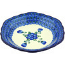 7-inch Stoneware Scalloped Bowl - Polmedia Polish Pottery H5720G