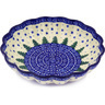 7-inch Stoneware Scalloped Bowl - Polmedia Polish Pottery H6223F