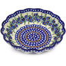 7-inch Stoneware Scalloped Bowl - Polmedia Polish Pottery H6224F