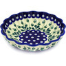 7-inch Stoneware Scalloped Bowl - Polmedia Polish Pottery H6474D