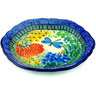 7-inch Stoneware Scalloped Bowl - Polmedia Polish Pottery H6923G