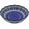 7-inch Stoneware Scalloped Bowl - Polmedia Polish Pottery H7181F