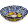7-inch Stoneware Scalloped Bowl - Polmedia Polish Pottery H7802J