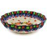 7-inch Stoneware Scalloped Bowl - Polmedia Polish Pottery H7805J