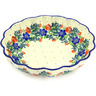 7-inch Stoneware Scalloped Bowl - Polmedia Polish Pottery H8719D