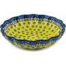 7-inch Stoneware Scalloped Bowl - Polmedia Polish Pottery H9680A