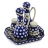7-inch Stoneware Seasoning Set - Polmedia Polish Pottery H6938K