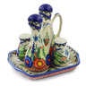 7-inch Stoneware Seasoning Set - Polmedia Polish Pottery H6940K