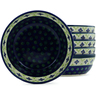 7-inch Stoneware Set of 6 Bowls - Polmedia Polish Pottery H3614J