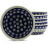 7-inch Stoneware Set of 6 Bowls - Polmedia Polish Pottery H4954J