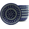 7-inch Stoneware Set of 6 Bowls - Polmedia Polish Pottery H4957J