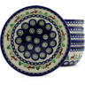 7-inch Stoneware Set of 6 Bowls - Polmedia Polish Pottery H4960J