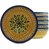 7-inch Stoneware Set of 6 Bowls - Polmedia Polish Pottery H5309J