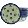 7-inch Stoneware Set of 6 Bowls - Polmedia Polish Pottery H5311J
