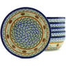 7-inch Stoneware Set of 6 Bowls - Polmedia Polish Pottery H5314J